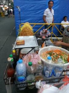 Street food on Khao San