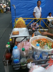 Street food on Khao San
