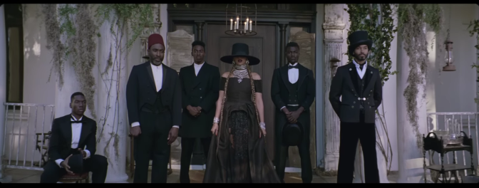 Beyonce and the secret society